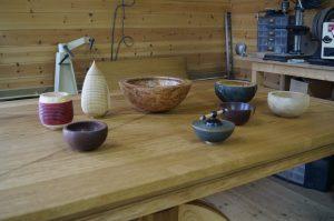 handmade oak kitchen tables